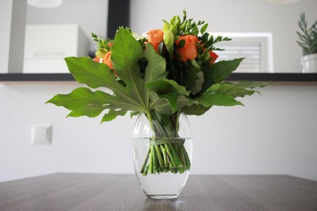 花瓶の水が清潔に保つ