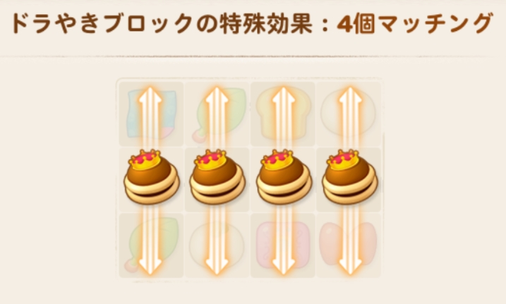 ドラやき効果×4