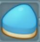 青いケーキ1
