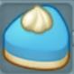 青いケーキ2