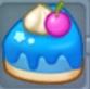 青いケーキ3